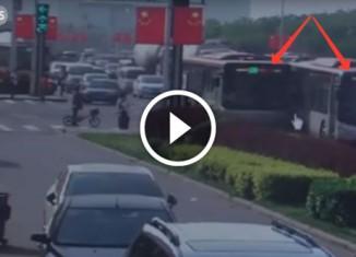 Разборка китайских водителей