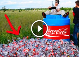 1000 литров кока-колы