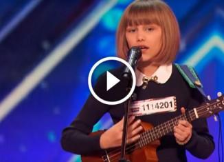 12-летняя девочка с отличным голосом