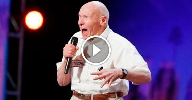 82-летний мужчина отжег на шоу талантов