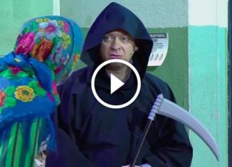 В подъезде Костюм смерти Уральские пельмени