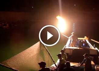 Огненная рыбалка