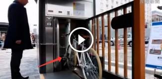 Парковка велосипедов в Японии