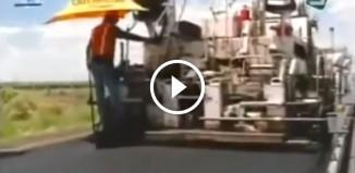 Как строят дороги в Израиле