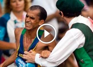 Нападение на марафонца