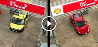 Пилот Формулы-1 против водителя скорой помощи