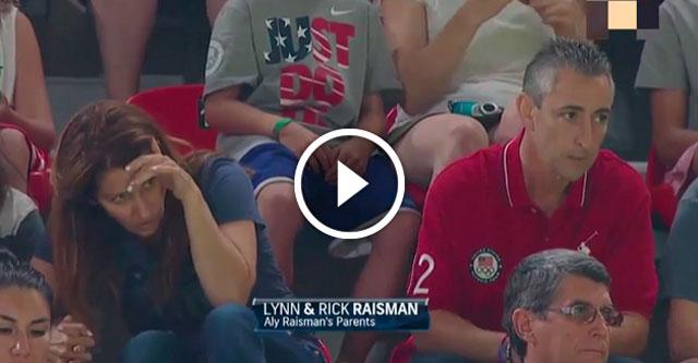Реакция родителей на выступление дочери