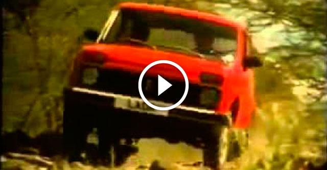 Реклама советских автомобилей в Англии