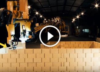 Робот строитель