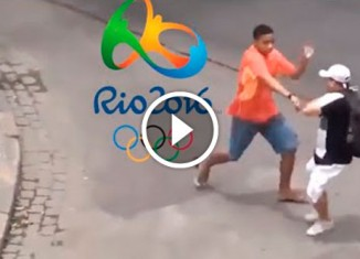 Уличное воровство в Бразилии