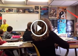 Учитель выпрыгнул из окна