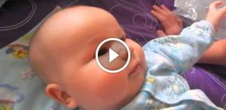 3-месячный ребенок разговаривает
