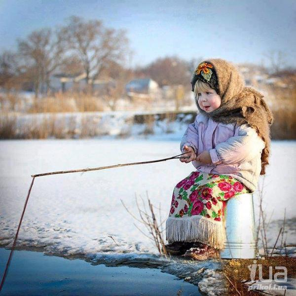 Взял я свою 9-летнюю дочь на рыбалку…Незабываемая рыбалка!